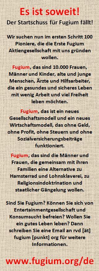 Fugium Start